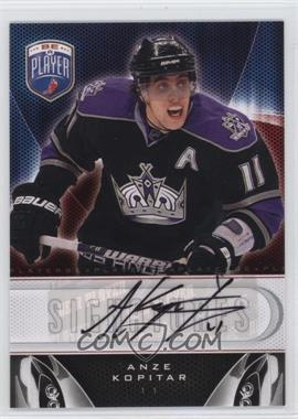 2009-10 Upper Deck Be a Player - Signatures - [Autographed] #S-AK - Anze Kopitar