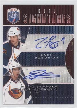 2009-10 Upper Deck Be a Player Dual Signatures [Autographed] #S2-BK - Zach Bogosian, Evander Kane