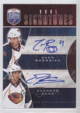 2009-10 Upper Deck Be a Player Dual Signatures [Autographed] #S2-BK - Zach Bogosian, Evander Kane
