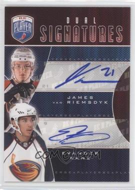 2009-10 Upper Deck Be a Player Dual Signatures [Autographed] #S2-KV - James van Riemsdyk, Evander Kane