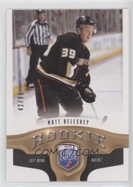 2009-10 Upper Deck Be a Player #286 - Matt Beleskey /99