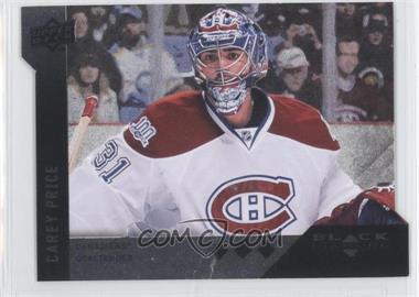 2009-10 Upper Deck Black Diamond Horizontal Variations Perimeter Die-Cuts #BD3 - Carey Price