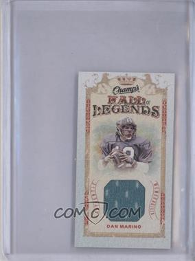 2009-10 Upper Deck Champ's Mini Hall of Legends Memorabilia #HL-DM - Dan Marino