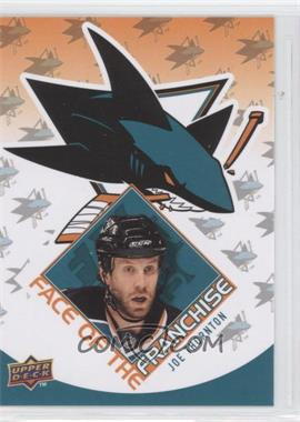 2009-10 Upper Deck Face of the Franchise #FF13 - Joe Thornton