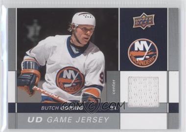 2009-10 Upper Deck Game Jersey #GJ-BG - Butch Goring