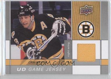 2009-10 Upper Deck Game Jersey #GJ-CN - Cam Neely