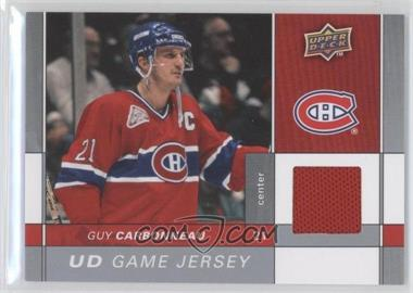 2009-10 Upper Deck Game Jersey #GJ-GC - Guy Carbonneau