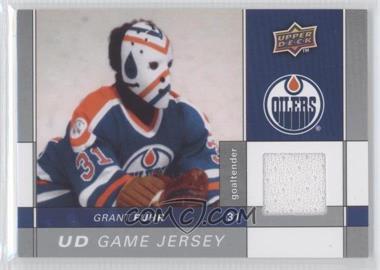 2009-10 Upper Deck Game Jersey #GJ-GF - Grant Fuhr