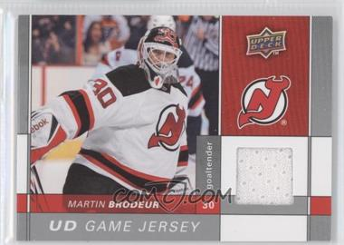 2009-10 Upper Deck Game Jersey #GJ-MB - Martin Brodeur