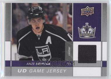 2009-10 Upper Deck Game Jersey #GJ2-AK - Anze Kopitar