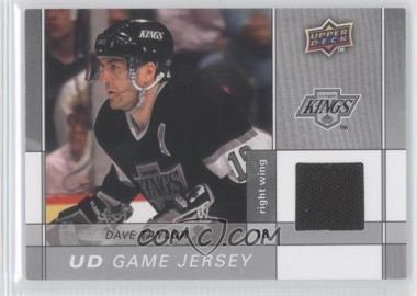 2009-10 Upper Deck Game Jersey #GJ2-DT - Daniel Taylor