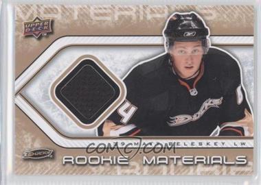 2009-10 Upper Deck Rookie Materials #RM-BE - Matt Beleskey