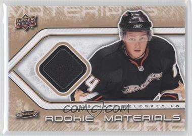 2009-10 Upper Deck Rookie Materials #RM-BE - Matt Beleskey