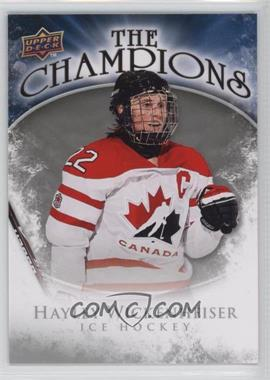 2009-10 Upper Deck The Champions #CH-HW - Hayley Wickenheiser