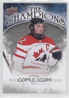 2009-10 Upper Deck The Champions #CH-HW - Hayley Wickenheiser