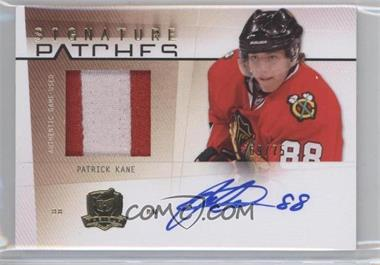 2009-10 Upper Deck The Cup - Signature Patches #SP-PK - Patrick Kane /75