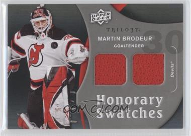 2009-10 Upper Deck Trilogy Honorary Swatches #HS-MB - Martin Brodeur