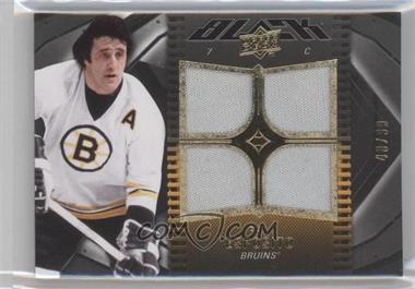 2009-10 Upper Deck UD Black #3 - Phil Esposito /99
