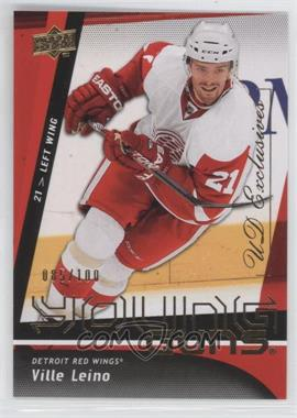 2009-10 Upper Deck UD Exclusives #204 - Ville Leino /100
