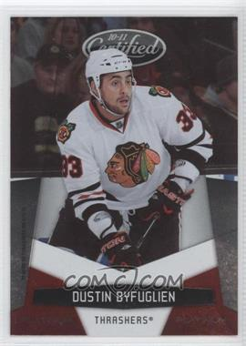 2010-11 Certified - [Base] - Platinum Red #8 - Dustin Byfuglien /999