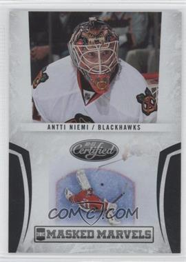 2010-11 Certified - Masked Marvels Preview #AN - Antti Niemi