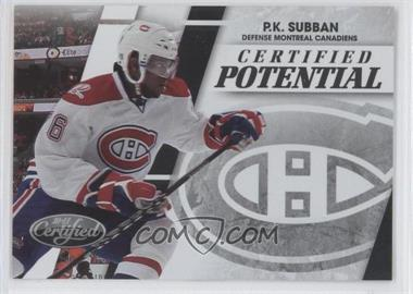2010-11 Certified Certified Potential Preview #PS - P.K. Subban