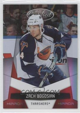 2010-11 Certified Mirror Red #7 - Zach Bogosian /250