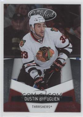2010-11 Certified Platinum Red #8 - Dustin Byfuglien /999