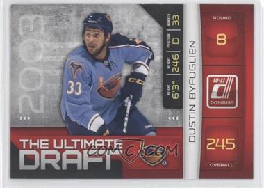 2010-11 Donruss - The Ultimate Draft #27 - Dustin Byfuglien