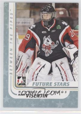 2010-11 In the Game Between the Pipes #28 - Mark Visentin