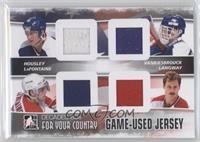 Phil Housley, Pat LaFontaine, Rod Langway