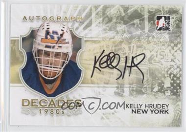 2010-11 In the Game Decades 1980s Autographs #A-KH - Kelly Hrudey
