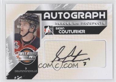 2010-11 In the Game Heroes and Prospects - Autographs #A-SC2 - Sean Couturier