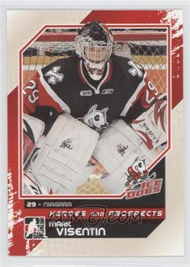 2010-11 In the Game Heroes and Prospects #32 - Mark Visentin