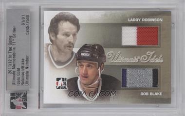 2010-11 In the Game Ultimate Memorabilia 10th Edition Idols Gold #5245 - Larry Robinson /1