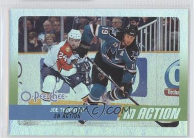 2010-11 O-Pee-Chee In Action #IA-22 - Joe Thornton