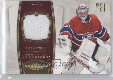 2010-11 Panini Dominion - [Base] - Jerseys [Memorabilia] #51 - Carey Price /99