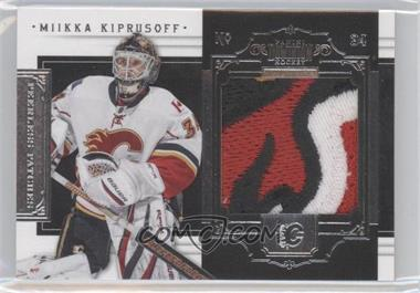 2010-11 Panini Dominion - Peerless Patches #28 - Miikka Kiprusoff /25