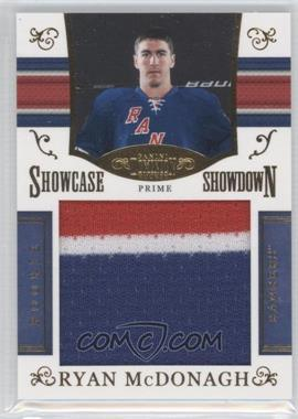 2010-11 Panini Dominion Rookie Showcase Showdown Colossal Materials Prime #5 - Ryan McDonagh /75