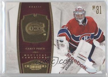 2010-11 Panini Dominion #51 - Carey Price /199