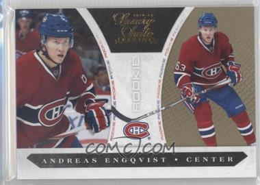 2010-11 Panini Luxury Suite - [Base] - Gold #244 - Andreas Engqvist /10