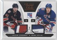 Artem Anisimov, Marc Staal /50