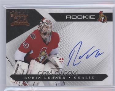 2010-11 Panini Luxury Suite #158 - Rookies Group 3 - Robin Lehner /499 [Mint]