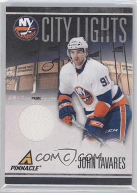 2010-11 Panini Pinnacle City Lights Materials Prime [Memorabilia] #77 - John Tavares /25