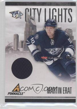 2010-11 Panini Pinnacle City Lights Materials #55 - Martin Erat /499