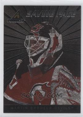 2010-11 Panini Pinnacle Saving Face #12 - Martin Brodeur