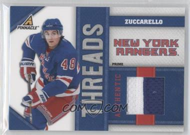 2010-11 Panini Pinnacle Threads Prime #MZ - Mats Zuccarello /25