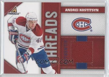 2010-11 Panini Pinnacle Threads #AK - Andrei Kostitsyn /499