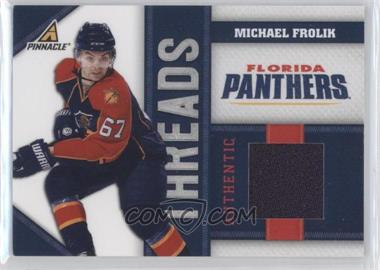 2010-11 Panini Pinnacle Threads #FK - Michael Frolik /499