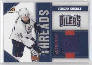 2010-11 Panini Pinnacle Threads #JE - Jordan Eberle /499